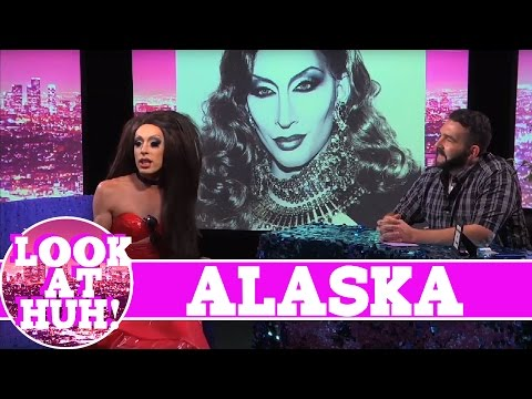 Alaska Thunderfuck LOOK AT HUH!  On Hey Qween! Season 1 with Jonny McGovern