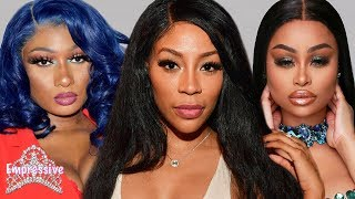 K. Michelle disses Blac Chyna! | Megan Thee Stallion claps back at Charlamagne