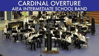 preview picture of video 'CARDINAL OVERTURE | Aiea Intermediate School Band | 2015 South POB'