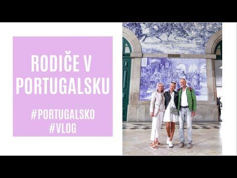 RODIČE V PORTUGALSKU | #vlog
