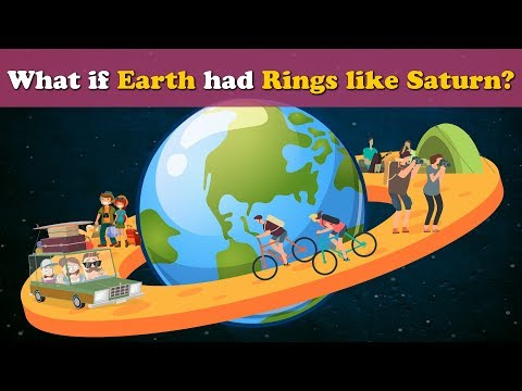 What if Earth had Rings like Saturn? | #aumsum