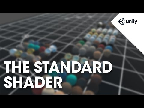 the standard shader unity