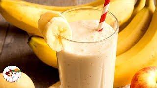 Банановый смузи – вкусный и полезный коктейль.