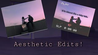 How To Make AestheticVHS Edits! ✍🏽