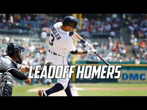 MLB | Ian Kinsler - Leadoff Home Runs