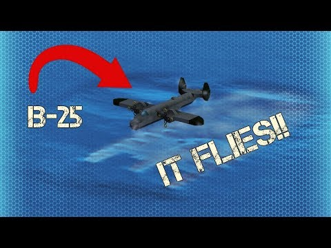 Warship Craft - 700 Sub Special, Flying B-25 Mitchell!!!!!!!