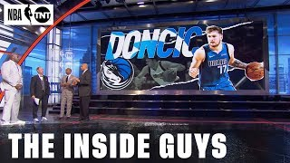 The Inside Guys Weigh in on Western Conference Player of the Month, Luka Doncic | NBA on TNT