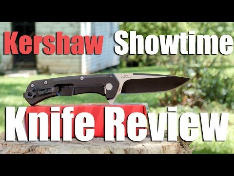 Kershaw Showtime Assisted Opening Speedsafe Pocket Knife Review ( 8Cr13MoV, 3 inch)