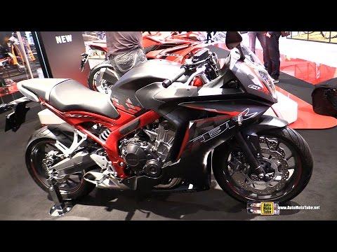2016 Honda CBR650F - Walkaround - 2015 EICMA Milan