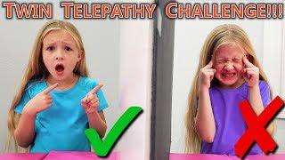 Twin Telepathy Challenge! Are We Really Twins?