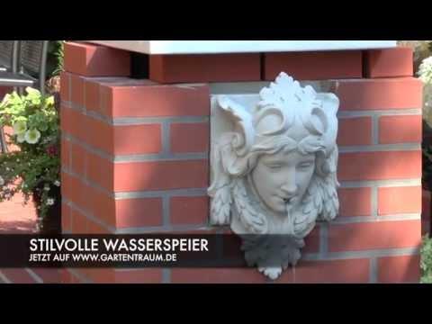 Garten Wasserspeier kaufen - Nymphea / Weiß