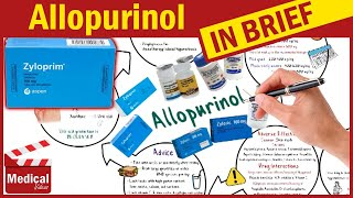 Allopurinol 100mg (Zyloprim)- What is Allopurinol? Uses, Dosage, Side Effects and Contraindications