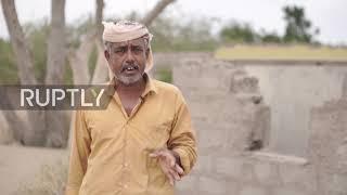 Pełzające piaski - pustynnienie zagraża jemeńskiej wiosce