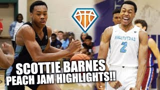 SCOTTIE BARNES IS THE MOST PRODUCTIVE PLAYER IN AMERICA!!   6'8 Point Forward Can Do EVERYTHING