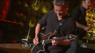 Van Halen Jump on Ellen DeGeneres