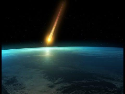 VOLL Meteoriteneinschlag in Russland 15.02.2013 UM 6:30 Uhr (3) DER EINSCHLAG!