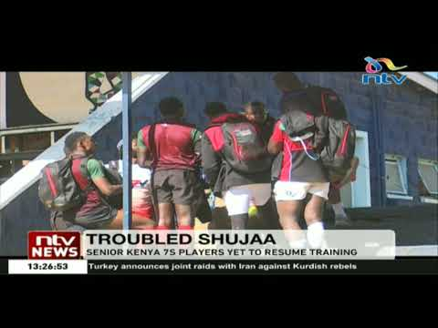 Senior Kenya 7s players yet to resume training