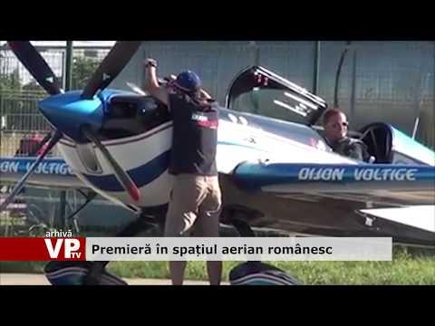 Premieră în spațiul aerian românesc