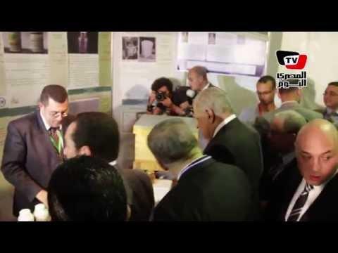 محلب يفتتح «المعرض الأول للابتكار» بجامعة عين شمس