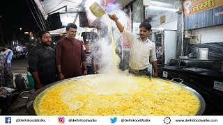Indore STREET Food Tour - BEST Rasgulla in India + BAKED Samosa + LAL BALTI Kachori + Usal Poha 1/2