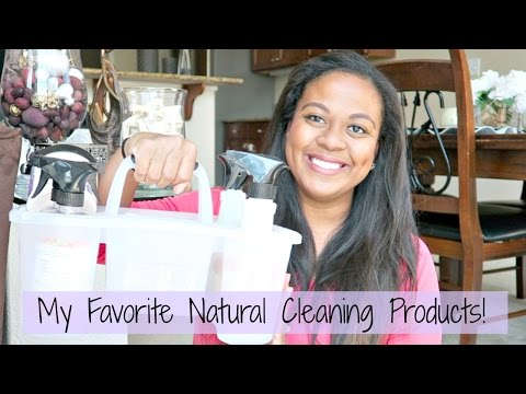 My Favorite Natural Cleaning Products!