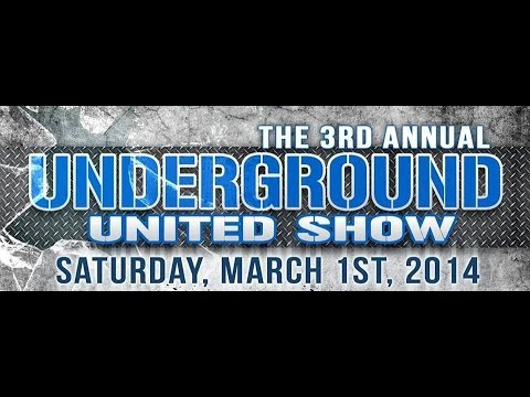 3RD ANNUAL UNDERGROUND UNITED  SHOW MAD CHOPPA LIVE @The Vibe in Riverside CA