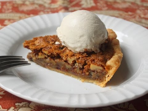 Chocolate Pecan Pie Recipe – Pecan Pie with Semi-Sweet Chocolate Chips