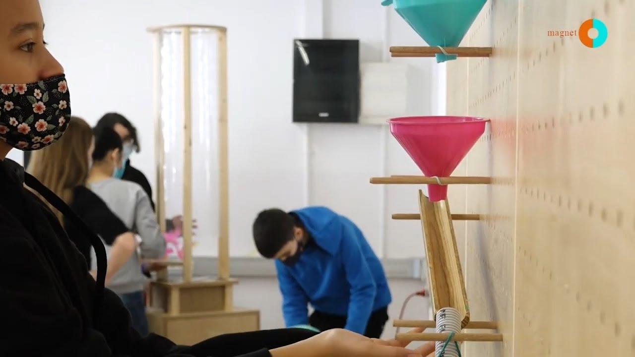 Projecte Magnet: Escola Miralletes i el CosmoCaixa ⚙