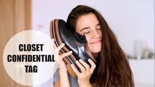 CLOSET CONFIDENTIAL TAG | Teresa Macetas