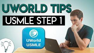 UWorld Tips for USMLE Step 1