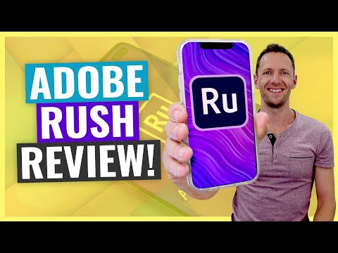 Adobe Rush Review! (Best Mobile Video Editor?)