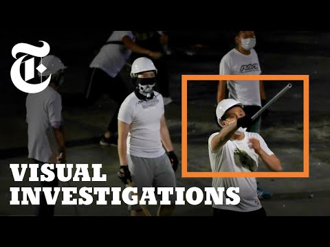 When a Mob Attacked Protesters in Hong Kong, the Police Walked Away | NYT Visual Investigations (2019)