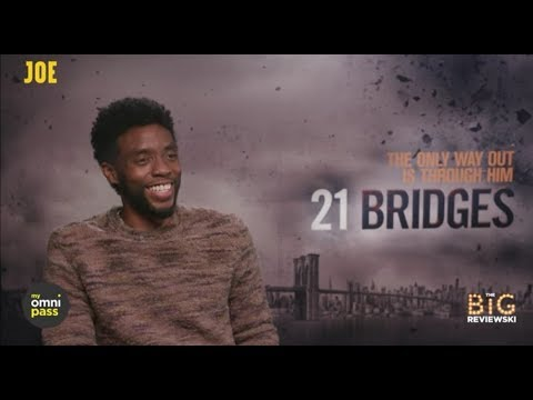 Chadwick Boseman on 21 Bridges, Black Panther 2 and Denzel in the MCU