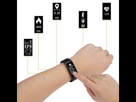 34€ Fitness Tracker - Touchscreen / Aktivitätstracker / Schrittzähler / Schlafüberwachung  usw.