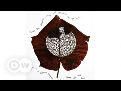 Lorenzo Manuel Durán's sculptures made of leaves   DW English