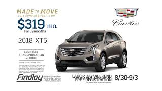 Cadillac XT5 | Findlay Cadillac Made to Move Event