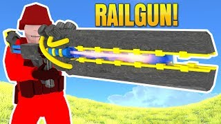 RAVENFIELD: GET THE RAILGUN SECRET NEW WEAPON (Complete How-To Guide)