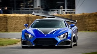 10 Minutes of the BEST Accelerations, Burntouts @ Goodwood Festival of Speed!