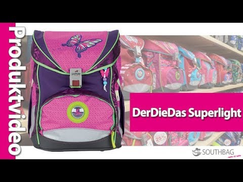 DerDieDas Schulranzen ErgoFlex Superlight - Produktvideo