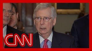 Mitch McConnell responds to Trump's attacks on Democratic congresswomen