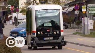 Gambar cover İlk sürücüsüz otobüs hizmete girdi - DW Türkçe