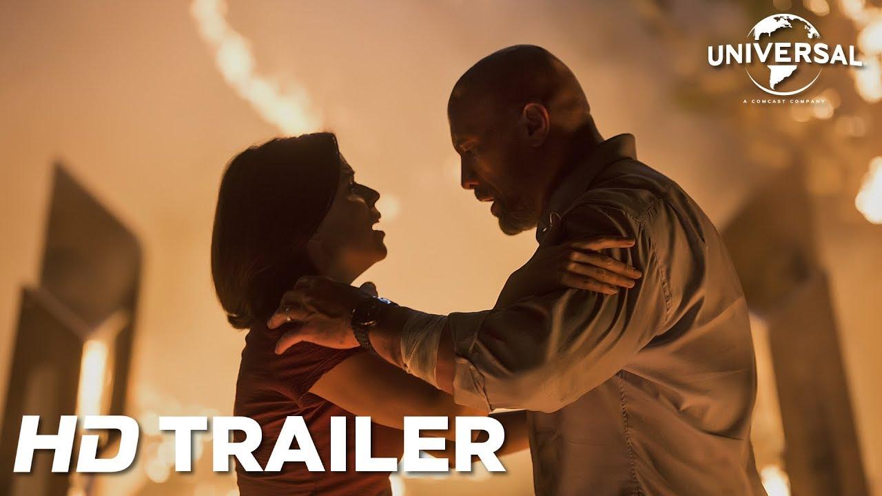 Arranha céu- Coragem sem limite| Divulgado o terceiro trailer do novo filme de Dwayne Johnson
