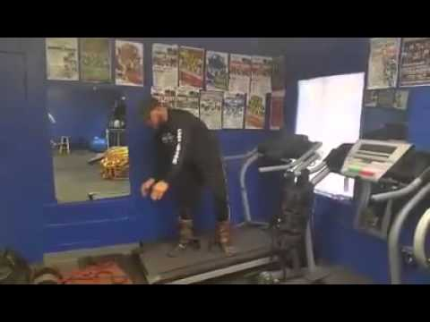 Boxing Conditioning Training Tip-HICT Endurance Workout On The Tred Sled.