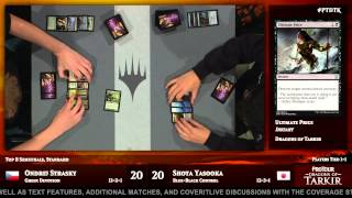 Pro Tour Dragons of Tarkir Semifinals (Standard): Shota Yasooka vs. Ondrej Strasky