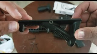 AFG-2 Angeled Foregrip Install+Review