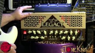 Carvin Legacy 3   FULL DEMO !!! (22 Minutes!!)  Steve Vai Signature Series Guitar Amp