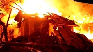 Одна ночь из жизни в Луганске. Последствия обстрелов. Украина ЛНР АТО
