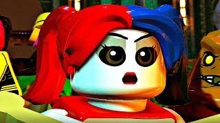LEGO DC SUPER VILLAINS - All Harley Quinn Cutscenes