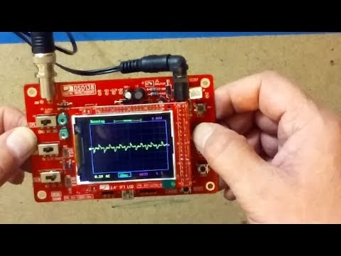 DSO138 Oscilloscope DIY Kit Build