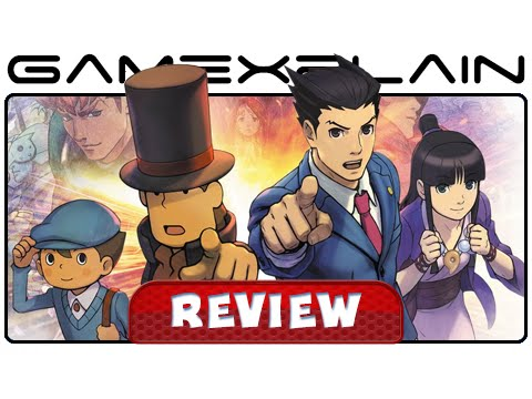 Professor Layton vs Phoenix Wright: Ace Attorney - Video Review (3DS) - YouTube video thumbnail